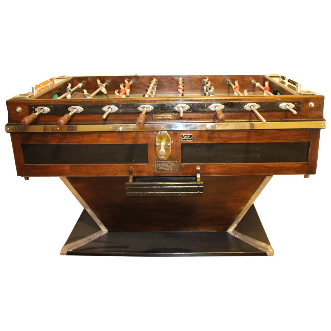 Antika Langırt Masası