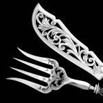 Antika Gümüş Takımı