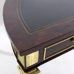 Bronz Ayaklı Antika Masa