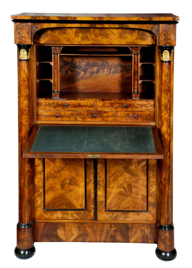 Neo Klasik Dönem Antika Yazı Masası